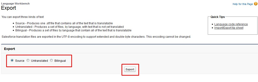 Translate Using Translation Workbench Export and Import   Md A K M